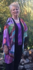 peggy k in her susan kimono